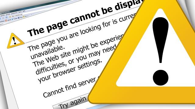 error Serverausfall