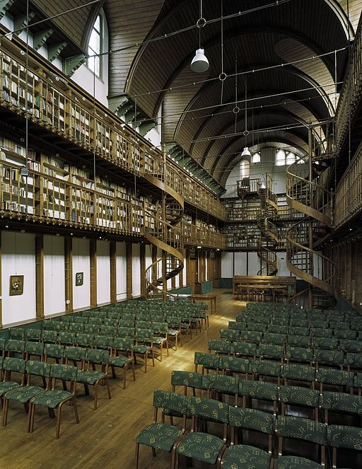 Wittem, Bibliothek des ehem. Redemptoristenklosters