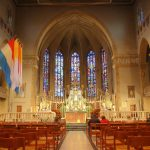 Innenansicht des Chorbereichs der Kathedrale unserer lieben Frau von Luxemburg (2007)