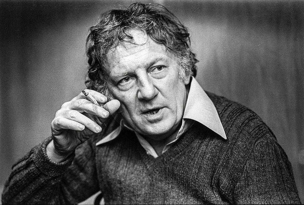 Foto Hugo Claus 1984