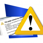 Grafik Fehlerwarnung