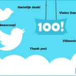 Grafik 100 Follower
