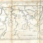 Abbildung John Gabriel Stedmans Karte von Surinam, ca. 1796