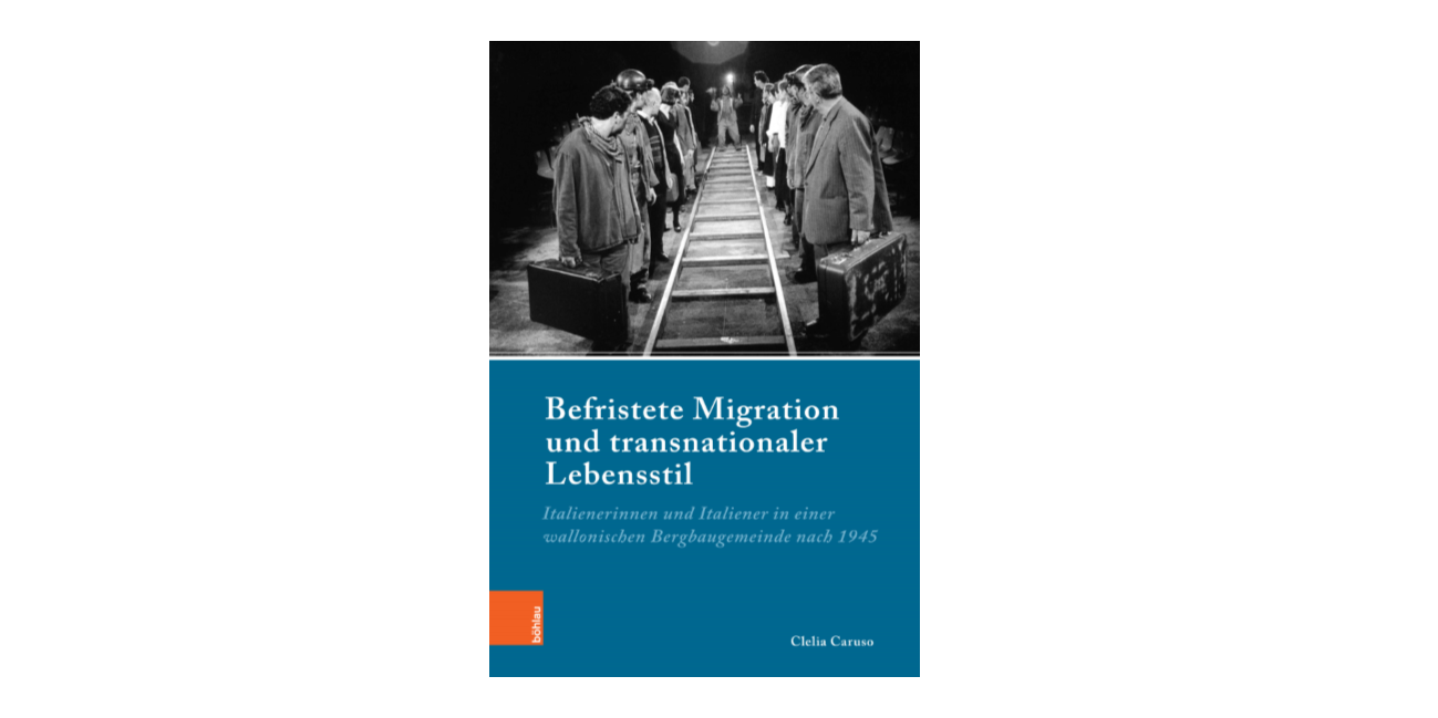 """Abbildung Buchcover Clelia Caruso: """"Befristete Migration und transnationaler Lebensstil"""""""