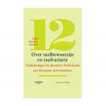 """Abbildung Buchcover Truus De Wilde: """"Over taalbewustzijn en taalvariatie"""""""