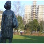 Anne Frank-Statue auf dem Merwedeplein
