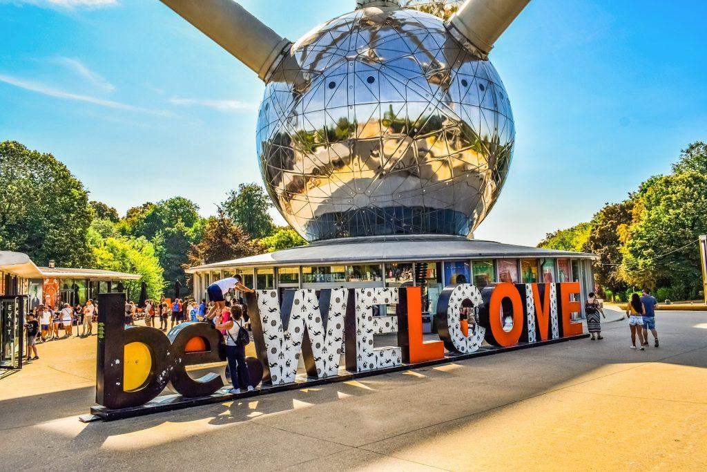 Foto Brüssel Atomium