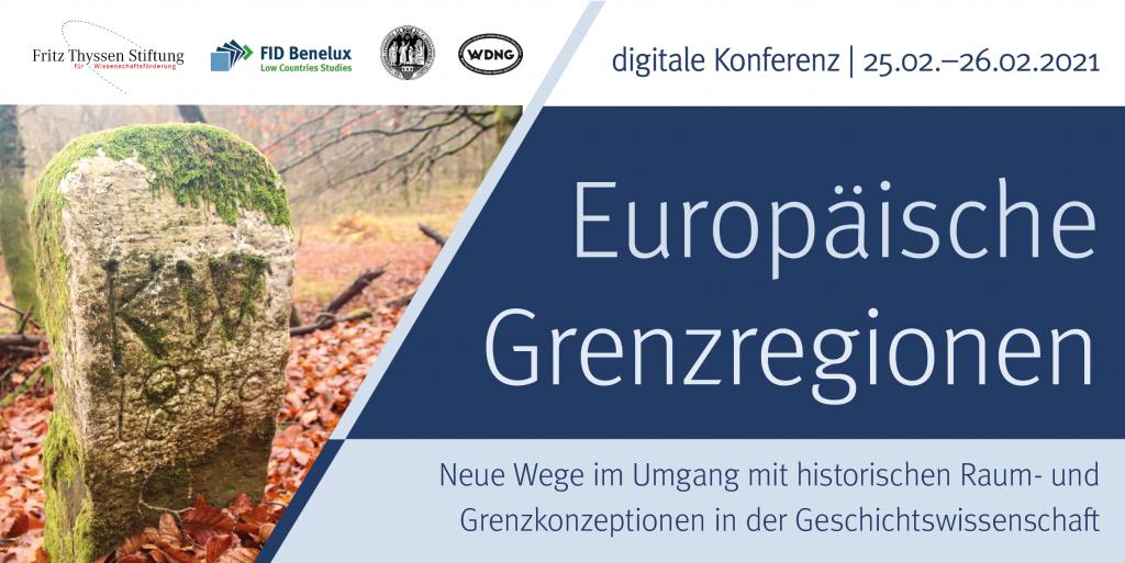 Plakat Online-Workshop Europäische Grenzregionen