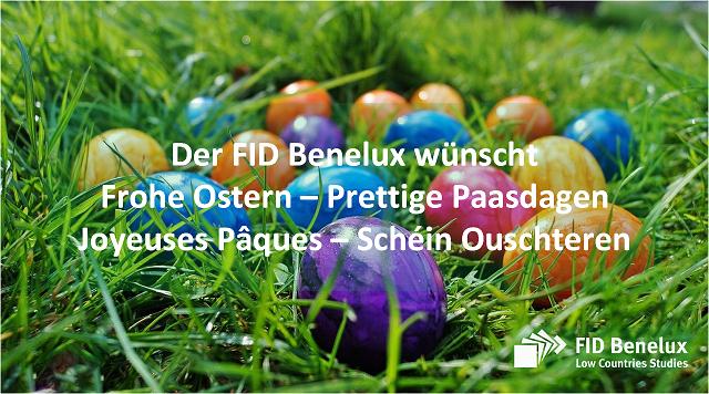 Osterwünsche des FID Benelux